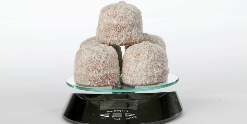 SØT TRØST: En kokosbolle er ikke det verste hvis du MÅ skeie ut.