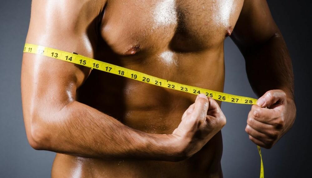 FETTFORBRENNING: Får du i deg for lite næring vil du bruke energi av muskelcellene i kroppen. Om muskelmassen forbrennes vekk, vil forbrenningen settes ned og du legger lettere på deg.