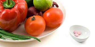 PÅVIRKNING: Medisiner kan økte kroppens behov for vitamer og mineraler.