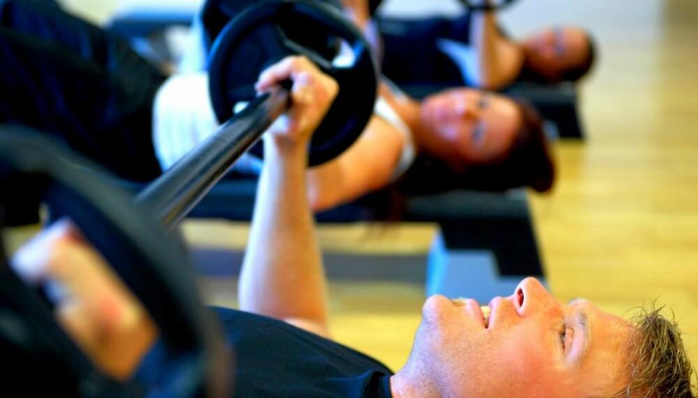 HOLD VEKTEN: styrketrening bevarer muskelmassen og forbrenningen ved vektreduksjon