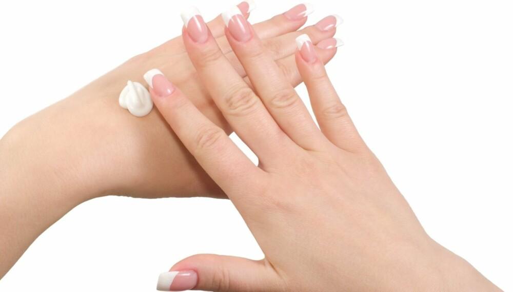 VELG RIKTIG: Styr unna de veldig parfymerte kremene hvis du har sensitiv hud.