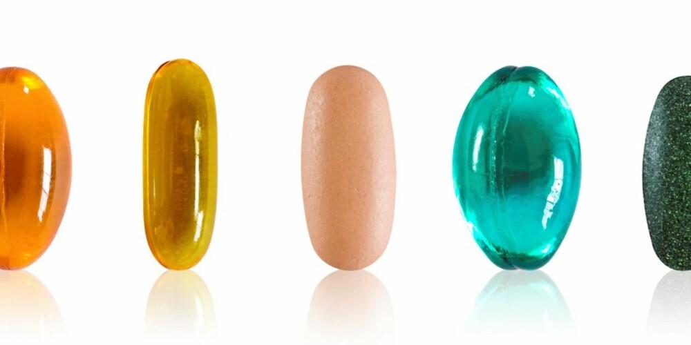 MANGE FORMER: Skal du sammenlikne pris eller mengde omega-3, må du  ta utgangspunkt i hvor mange kapsler du må spise for å få i deg en gitt dose.
