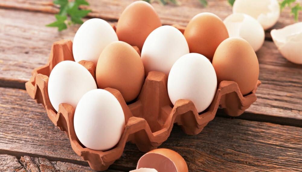 PROTEIN: Egg inneholder portein av høy kvalitet.