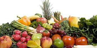 SPIS MER KALIUM: Frukt og grønnsaker er de beste kildene til kalium.