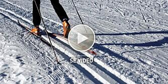 GOD GLID: Skikkelig preppa ski gir superfart ved hvert stavtak.
