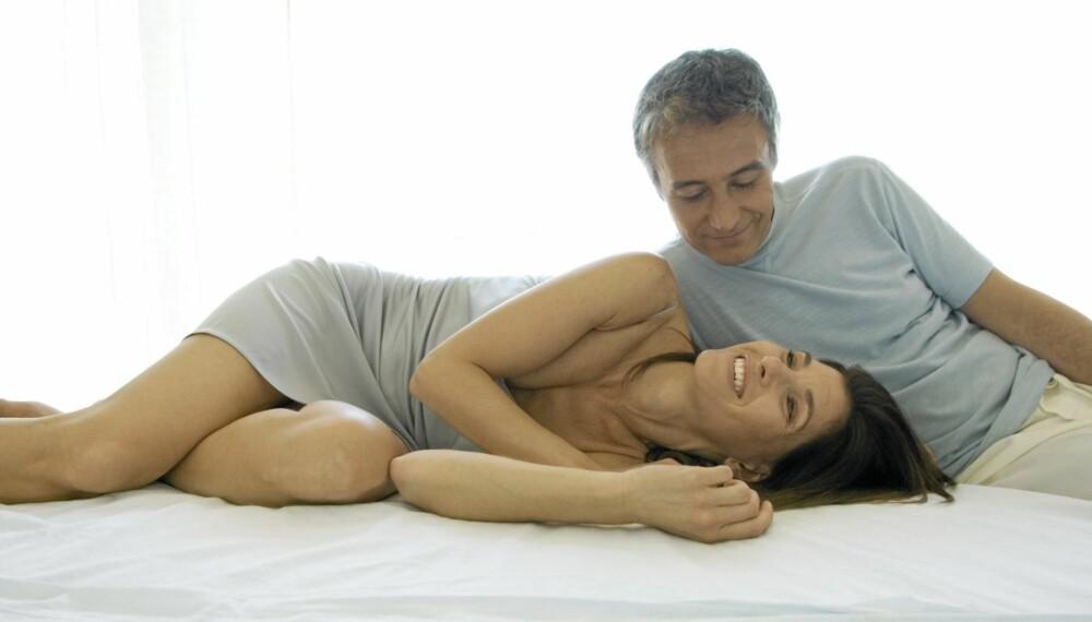 LIGGE GODT: Riktig madrass og god hodepute er avgjørende for søvnen, sier ekspertene.
