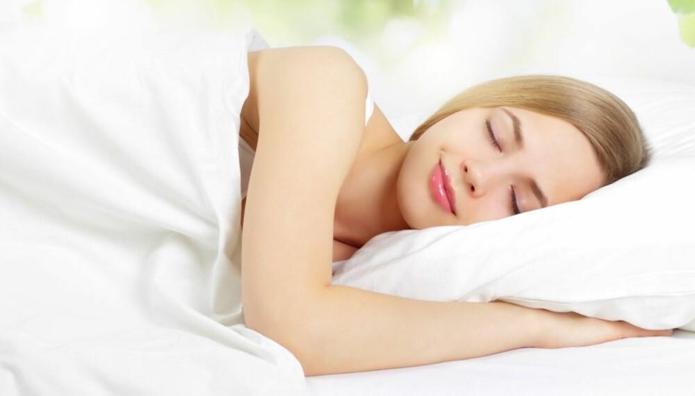 PUTE: En riktig pute som holder fasongen er viktig for at du skal få en god natts søvn.