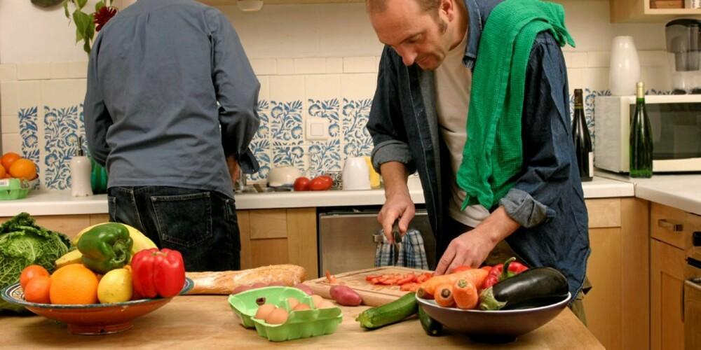 INVITER TIL MIDDAG: Lag en sunn og deilig middag sammen med en god venn.