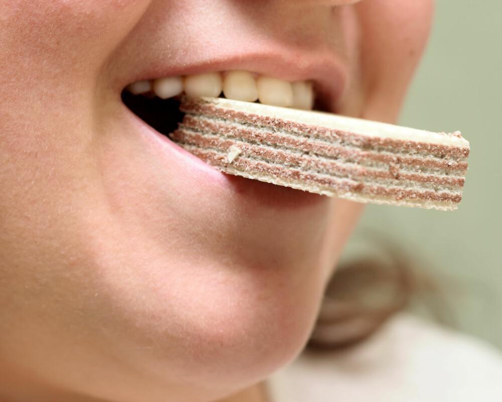 DROPP KJEKSEN: Ikke fråts i kjeks dersom du blir fysen på noe godt. Velg heller noe som tilfører kroppen næring.