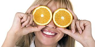 Tips: Hold deg unna appelsiner og annen sur mat