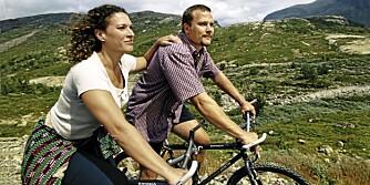 HEMSEDAL: Ta med kjæresten på en rolig sykkeltur i flott natur i Hemsedal.