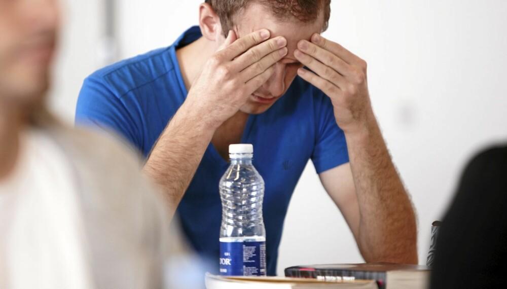 Sammen med tid, er vann den beste kuren mot fyllesyke.