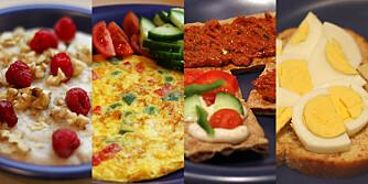 SUNN FROKOST: Frokostene er næringsrike, men kalorifattige. De inneholder cirka 350 kcal (kilokalorier).
