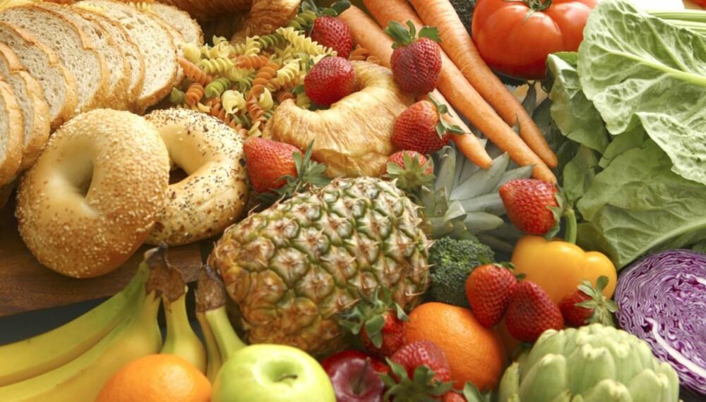 KARBOHYDRATER: Ofte er det ikke andelen karbohydrater i den enkelte matvare som er problemet, men mengden karbohydratrik mat som inntas i løpet av en dag eller uke.