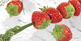 Jordbær har høyt innhold av antioksidanter.
