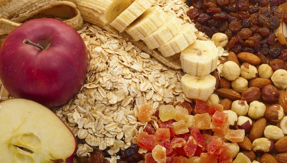 NYTTIG: Fiber har en rekke positive virkninger. Sjekk hvilke matvarer du finner mest fiber. ILLUSTRASJONSFOTO: Thinkstock