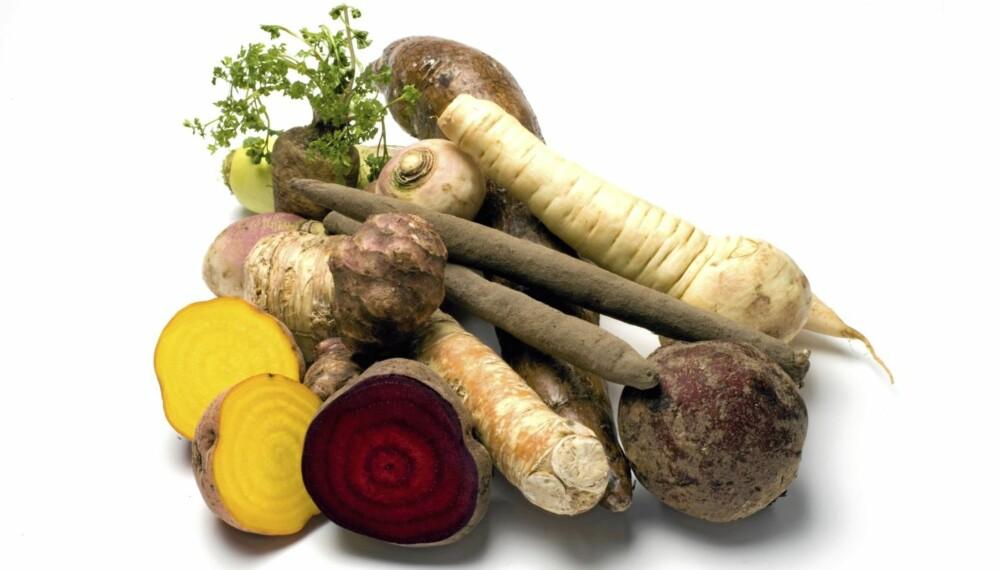 HØYKARBO: Grønnsaker som vokser under bakken er ikke en del av lavkarbo-diettene.