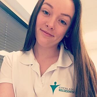 Ernæringsrådgiver ved Grenland Helsesenter Katarina Knudsen