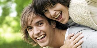 VENNER: Nordmenn mener at det å ha venner er det viktigste for at man skal ha det bra.