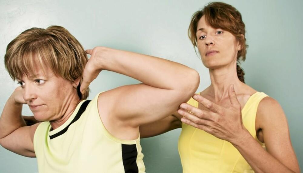 MOTIVERENDE: Er det noen som henger over deg kan det godt hende du yter litt ekstra og får bedre utbytte av treningen.
