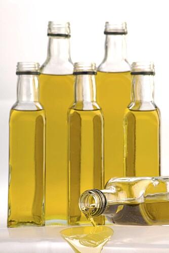 OLIVENOLJE: Oljen kan redusere risikoen for hjertesykdommer.
