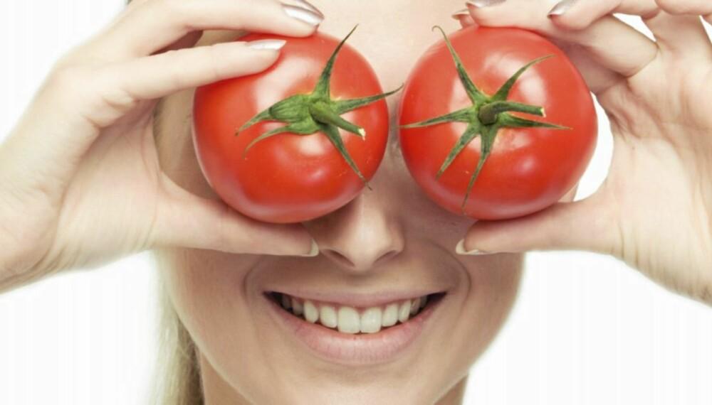 TOMATER: Det er faktisk bedreå spise kokte tomater enn rå tomater.