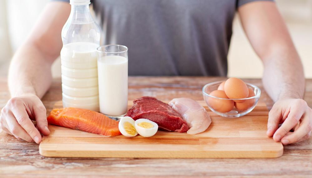 UNØDVENDIG ETTER TRENING?: Ifølge ny forskning viser det seg at proteiner ikke gir større muskler. ILLUSTRASJONSFOTO: Colourbox
