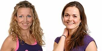 ERNÆRINGSEKSPERTER: Cathrine Borchsenius (t.v) og Marit Garathun Næss er ernæringsfysiologer.