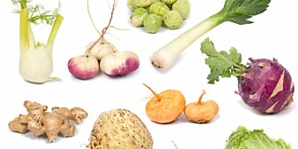 GRØNN HØST: Fyll middagsbordet med høstens flotte grønnsaker! Foto: Istockphoto.