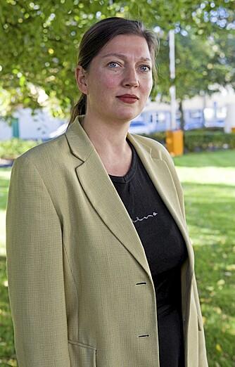 TIL KRIG MOT RØKKE: Informasjonssjef Kristina Johansen i Axellus mener reklamen for Røkkes krillkapsler er uforsvarlig.