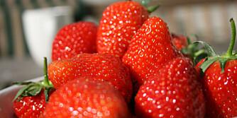 VELSMAKENDE: Det er vitenskapelig bevist at norske jordbær smaker best.