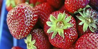 SUNT OG GODT: Endelig er jordbærsesongen her. Og den gode nyheten er at du kan spise jordbær hver dag, hvis du vil.