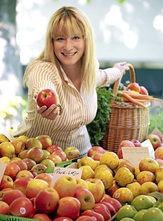 FRUKT: Naturligvis er epler og andre frukter med på topp 20-lista over verdens sunneste matvarer.