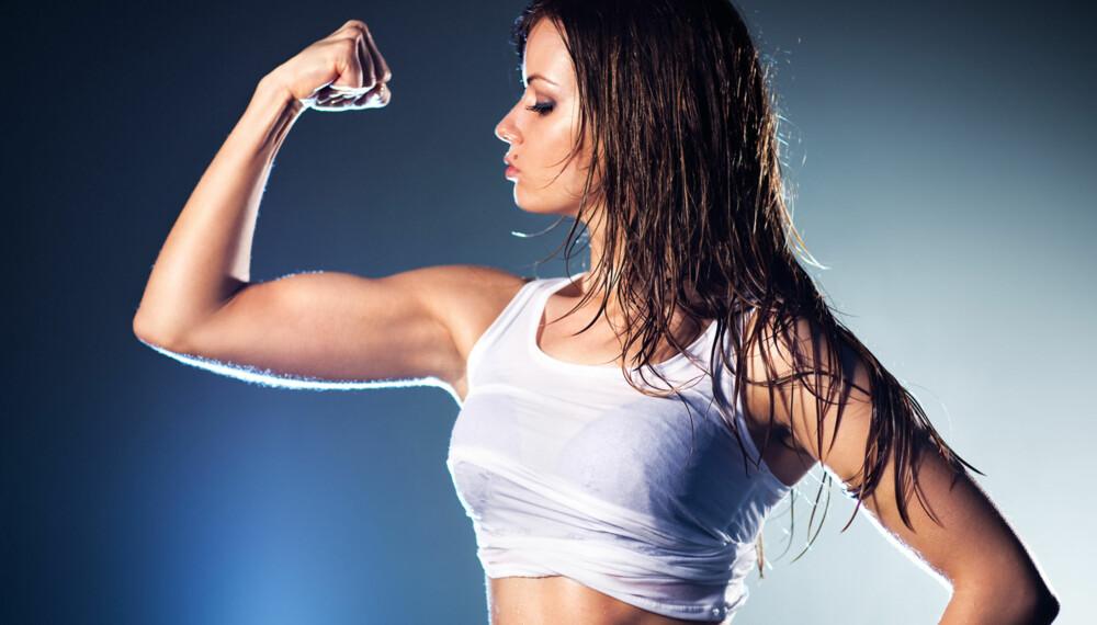 STERK: Melk kan gi maks effekt av styrketreningen.