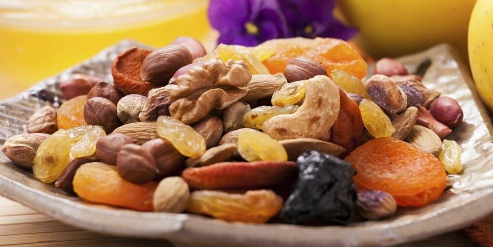 SUNT: Nøtter er god, og riktig føde for hjernen.