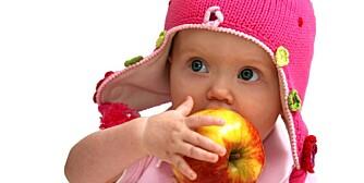 DESSERT ELLER MÅLTID? Om frukten skal fungere som et måltid eller mellommåltid, eller som dessert, kan avgjøres ved å sjekke sukkerinnholdet i frukten. Et eple kommer ganske høyt opp på skalaen og inneholder totalt 10,4 gram sukker per 100 gram eple.