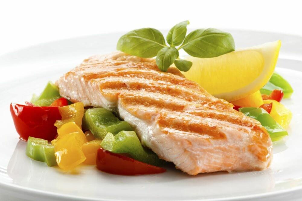 RETT FETT: Ved å spise laks, får du i deg det rette fettet.