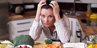 SUNN MAT: Det er ikke alltid sunn mat gir den vektnedgangen du ønsker deg.