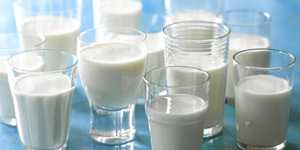 IKKE OVERDRIV: Barn kan drikke kumelk fra cirka ett års alder. Men inntaket bør ikke overstiger med enn halv liter, inkludert yoghurt. Dette fordi melk kan fortrenge annen næringsrik føde som kjøtt, fisk og egg.