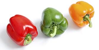 ANTIOKSIDANTER: Fargerike grønnsaker er ikke bare dekorative i maten. De styrker kroppen.