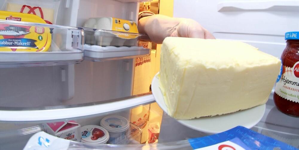 SMØR: Smør er rikt på mettet (hardt) fett som lenge har vært sett på som fettverstingen og årsaken til mye hjertesykdom.