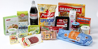 """LETTMAT: Du sparer nesten 4000 kalorier hver gang du velger disse lettproduktene fremfor """"tyngre"""" alternativer."""