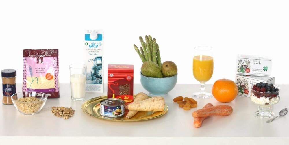 SPORTY LUNSJ: Mellommåltid, frokost og lunsj for den supersporty.