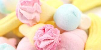 SØTT OG GODT: De fleste av oss liker godteri, men det er ikke alltid så mye som skal til før man blir kvalm av det.