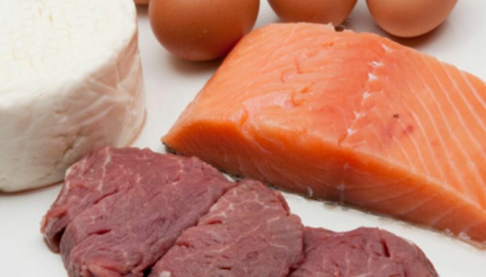 PROTEINBOMBER: De fleste har fokus på proteiner på grunn av deres rolle som byggestener for muskulatur, men proteiner har også andre flotte egenskaper.