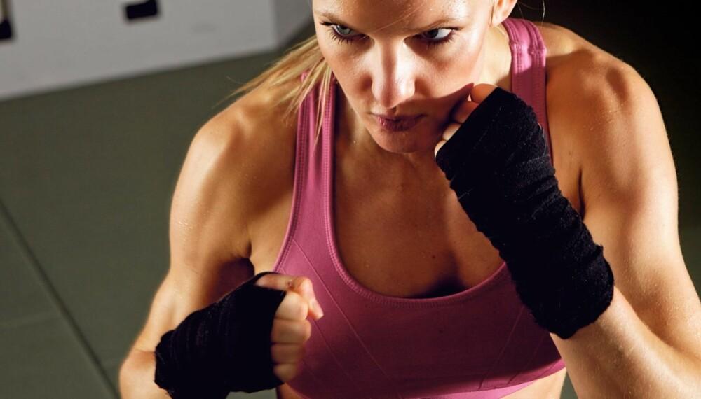INTENSIV TRENING: Under intensiv trening går du tom for oksygen, og du får vondt i musklene.