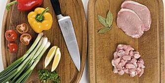 B-VITAMINER: Finnes i en rekke matvarer, som kjøtt, korn, egg og grønnsaker.
