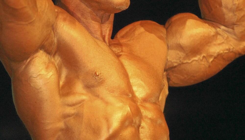 PROTEIN: Mat med høyt proteininnhold gjør det lettere å få store muskler.