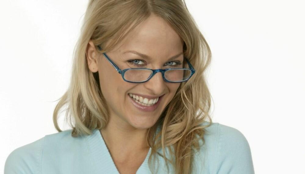 FIKS SYNET: Briller og kontaktlinser blir unødvendig etter at du har laserbehandlet øynene.