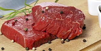 FÅR DEG VÅKEN: Magert, rødt kjøtt inneholder mye protein som gjør at du holder deg våken.